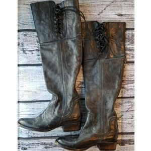 *Rare* Freebird West Black Over the Knee Boots